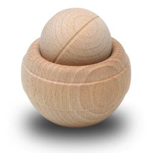 BodyRoller timber Massageroller aus Buchenholz